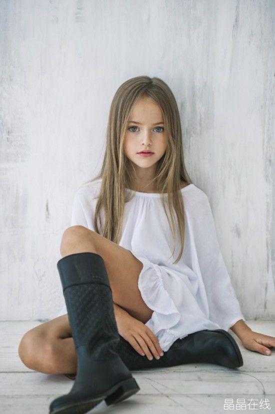 9岁女孩被评为世界上最美丽的女孩