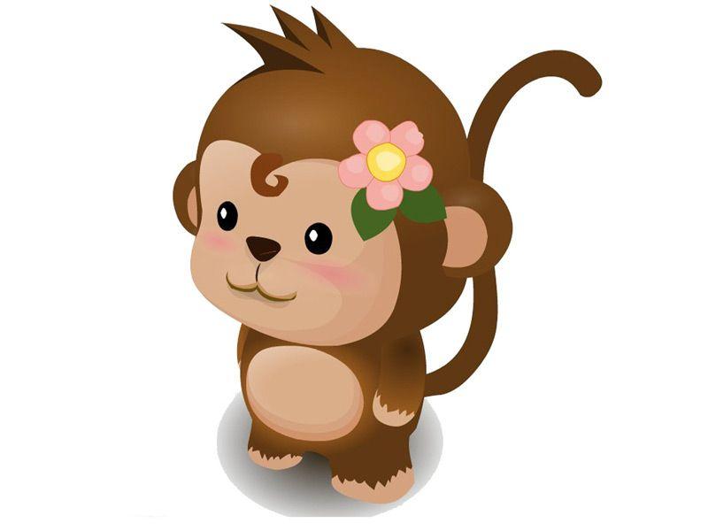 猴子卡通面具制作方法